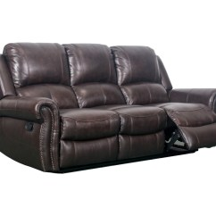 Parker Leather Sofa Reviews Italy J Graham Genuine Top Grain Manorville