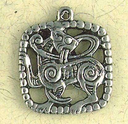 Viking Lion  Odin Pendant  Museum Store Company