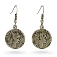 Roman Coin Earrings - Museum Shop Collection