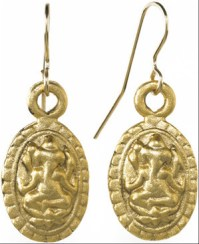 Ganesh earrings - Museum Shop Collection