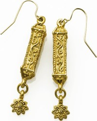 Islamic design dangle earrings - Museum Shop Collection