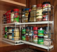 Cabinet Door Spice Racks | Pull Out Spice Racks | Spice ...