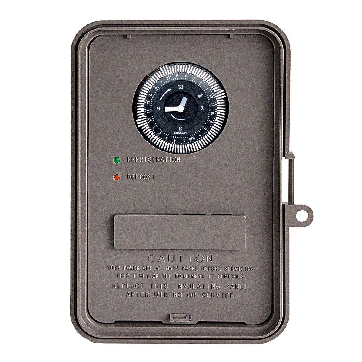 hight resolution of grasslin dtav40 auto voltage defrost timer 120 240vac heatcraft