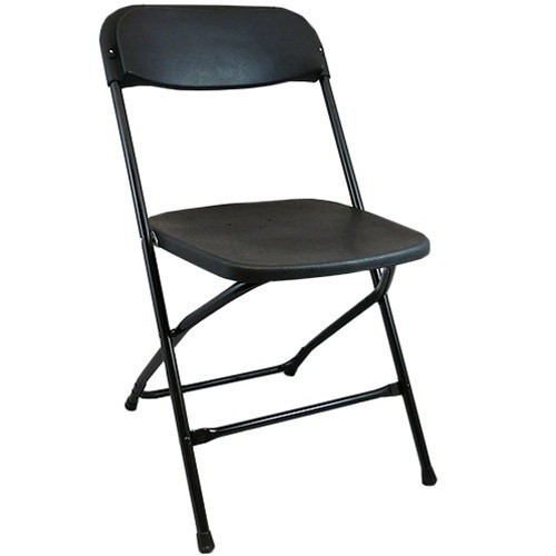 Lightweight Black Plastic Folding Chairs  Foldable Chairs