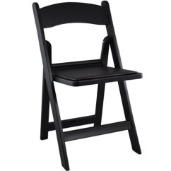 Stackable Padded Chairs One And Half Chair Sleepers Wedding | Black Resin Folding For Sale