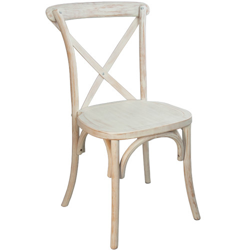 folding tables and chairs bulk woven bistro x-back chair | lime wash cross back