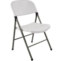 Oversized White Plastic Folding Chairs | Extra Strength ...