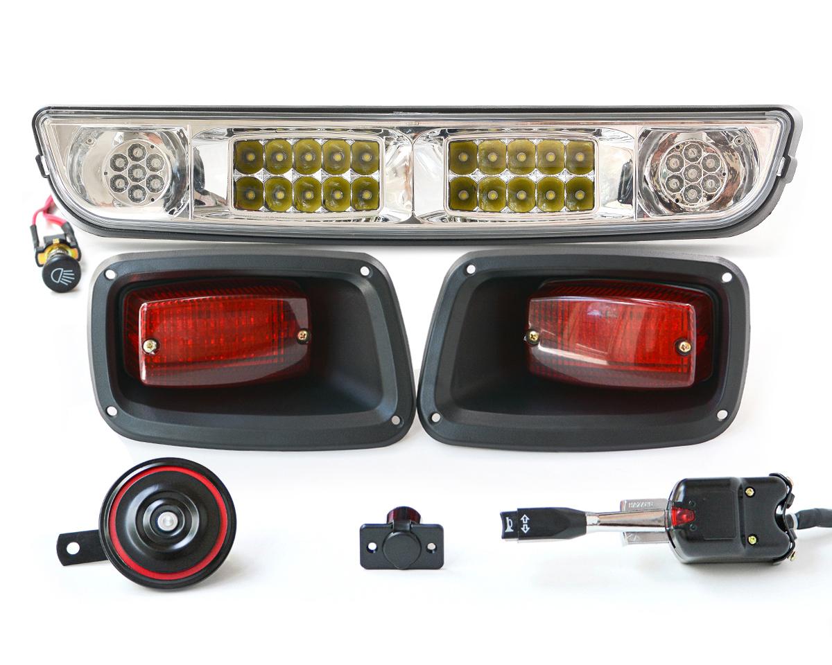 hight resolution of picking the best golf cart light kit ezgo light bar street legal kit golf cart led light kits for yamaha
