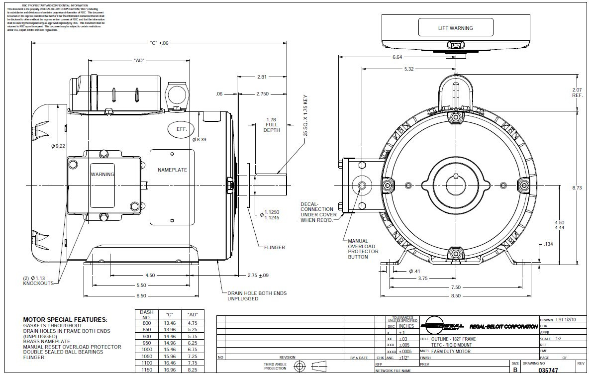 medium resolution of magnetek fan motor 115 230v wiring hydraulic motor wiring magnetek electric motors wiring diagram furnace blower motor diagram