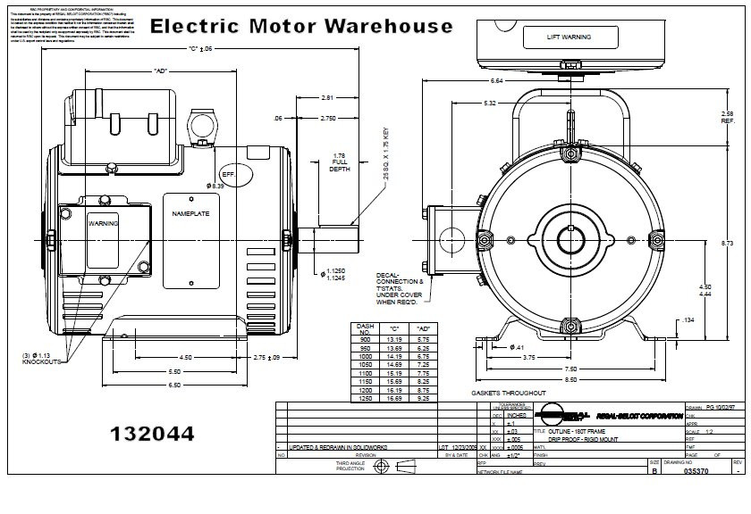 3 Phase Motor Wiring Diagrams Reliance 3 Phase Subpanel