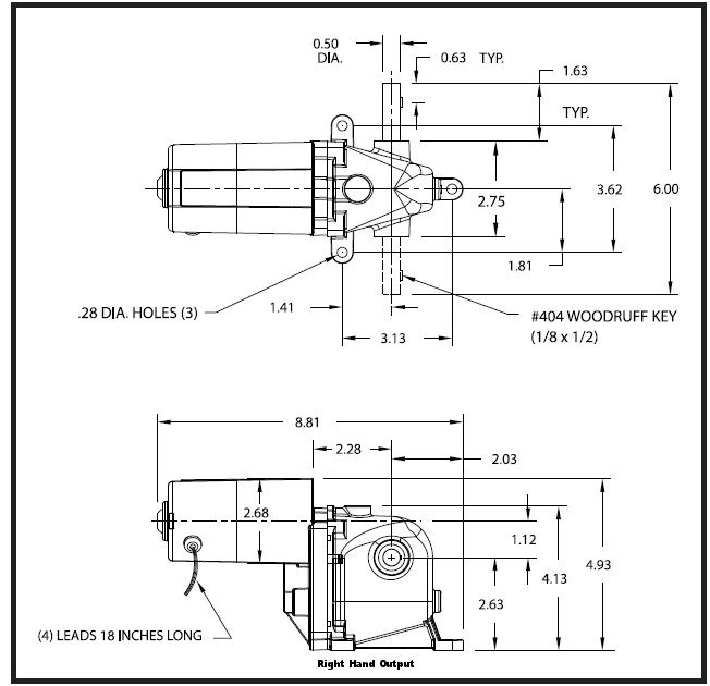 dayton gear motor wiring diagram