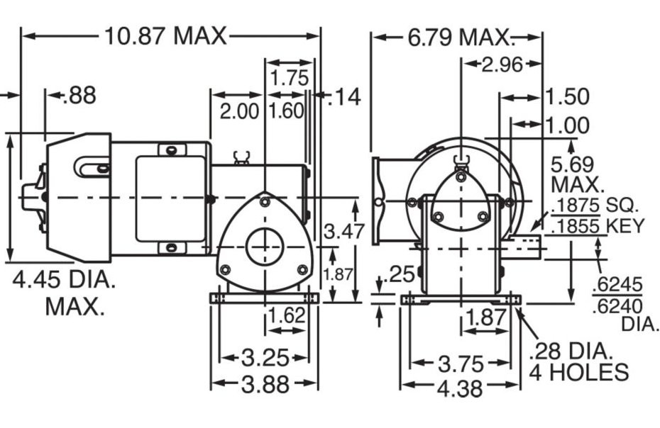 Wiring Diagrams Schematics On Sew Eurodrive Motor 1-0 Lead