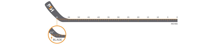 also how do you measure  hockey stick rh prostockhockey