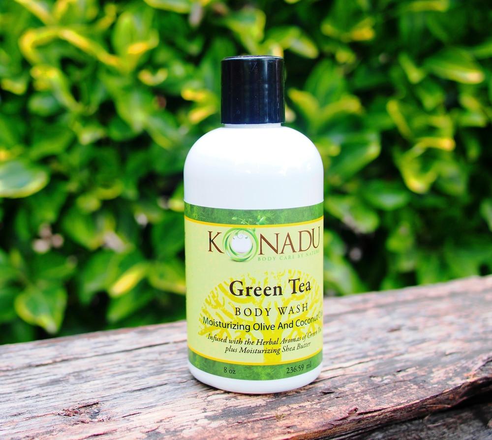 Green Tea Body Wash - Konadu Care Nature