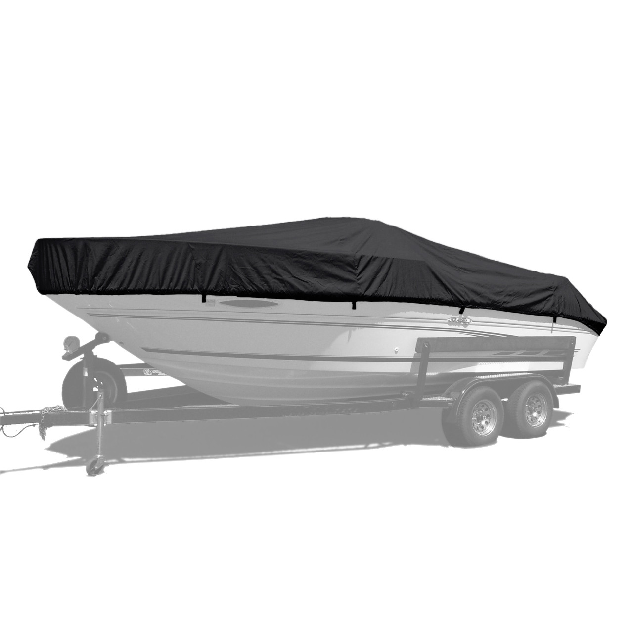 medium resolution of westland custom boat cover with jet black sunbrella fabric