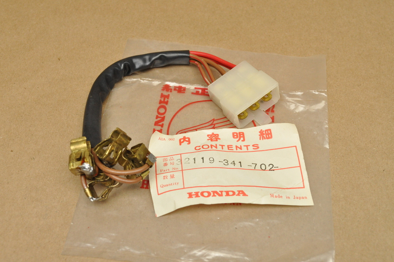 hight resolution of nos honda cb750 k2 1976 fuse box sub wire harness 32119 341 702