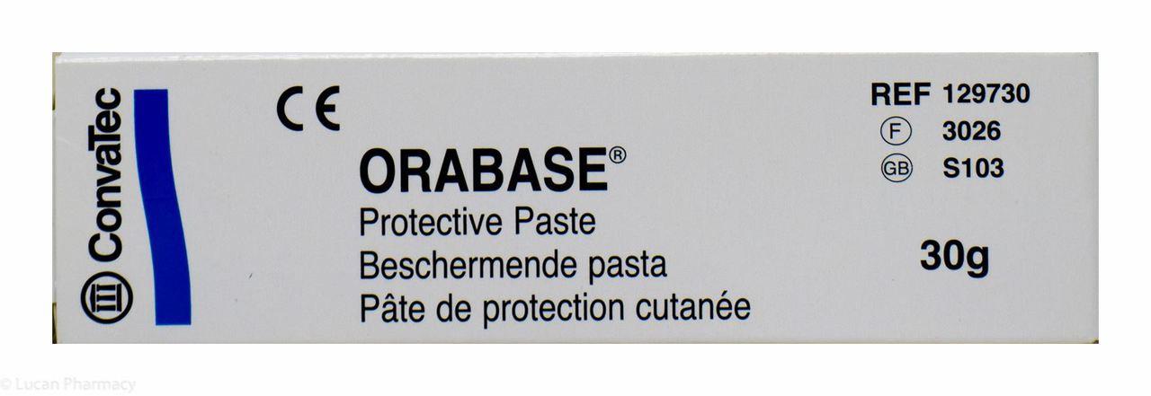 Orabase® Protective Paste – 30g #P - Lucan Village Pharmacy