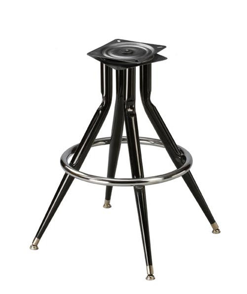 Bar Stool Swivel Base Replacement  4Legged Pyramid Base