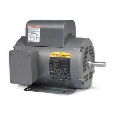 Baldor Motor L1408T  3HP 1PH 1725RPM Frame 184T OPEN