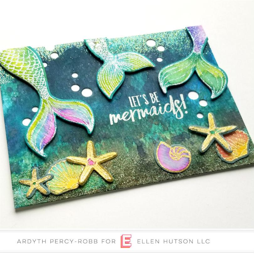 Inner Mermaid Card by Ardyth