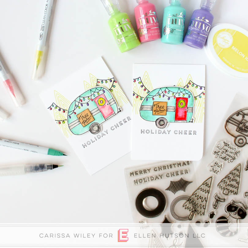 Christmas in July with Zig Clean Color – Ellen Hutson