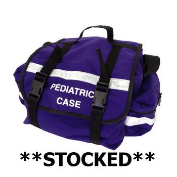 Stocked  Purple Pediatric Equipment Bag  Medical Warehouse