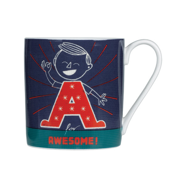 Paul Thurby A is for Awesome Mug