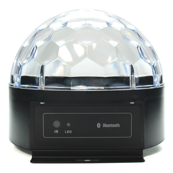 Dome LED Disco Ball with Bluetooth Speaker (Crystal) | 2Shopper.com
