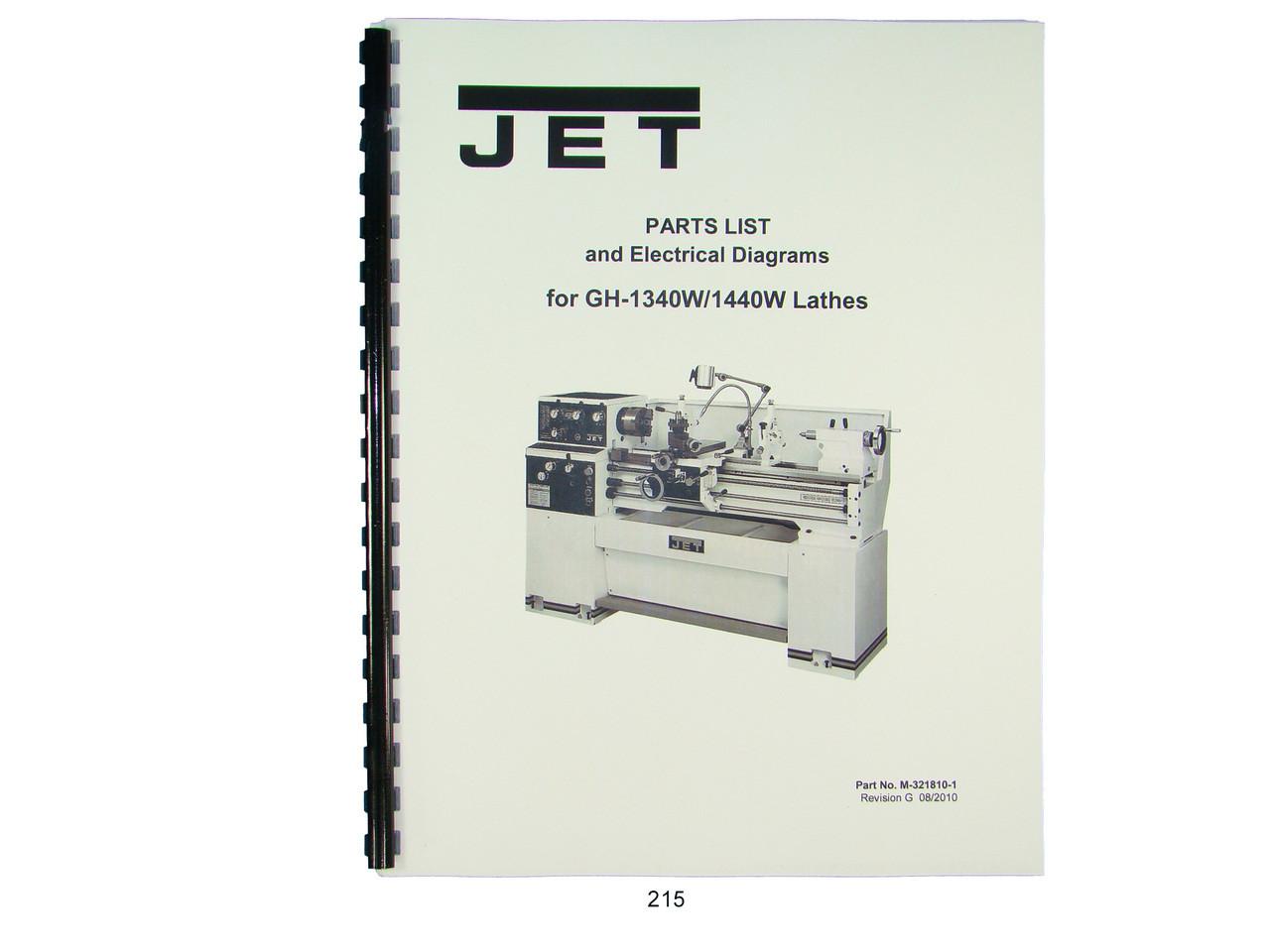 medium resolution of jet gh 1340w 1440w lathe parts list electrical diagrams jet lathe wiring diagram lathe control wiring