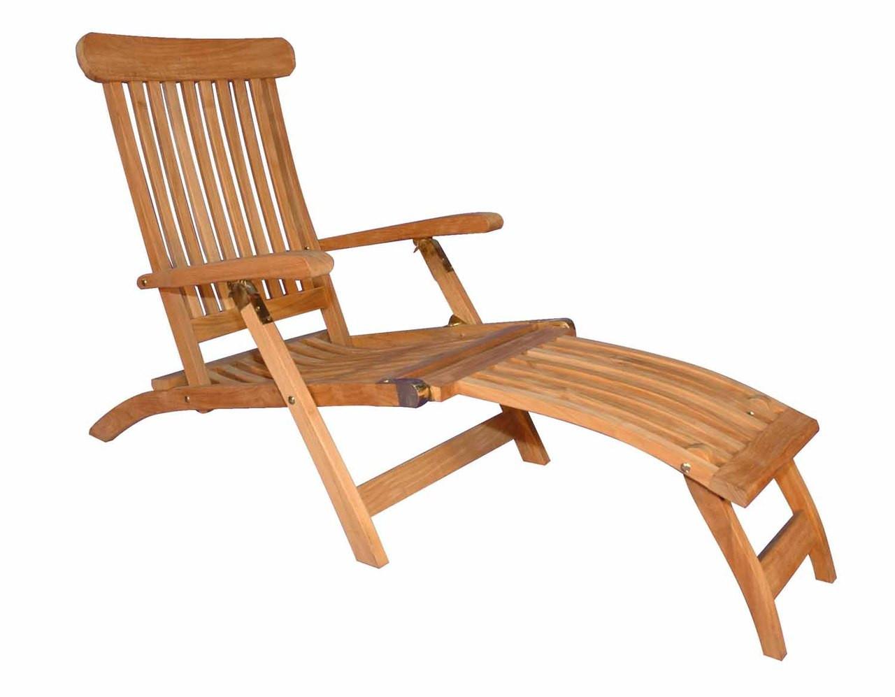 teak steamer chair masoli swivel by regal great garden supply