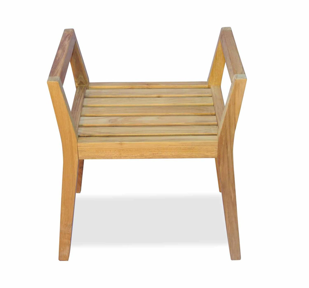 teak shower chairs with arms medi lift chair bench by regal great garden
