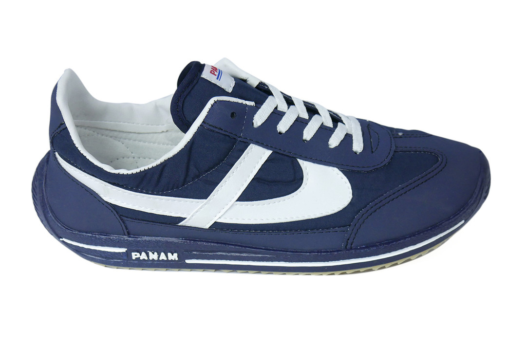 Navy Blue White Unisex Sneaker