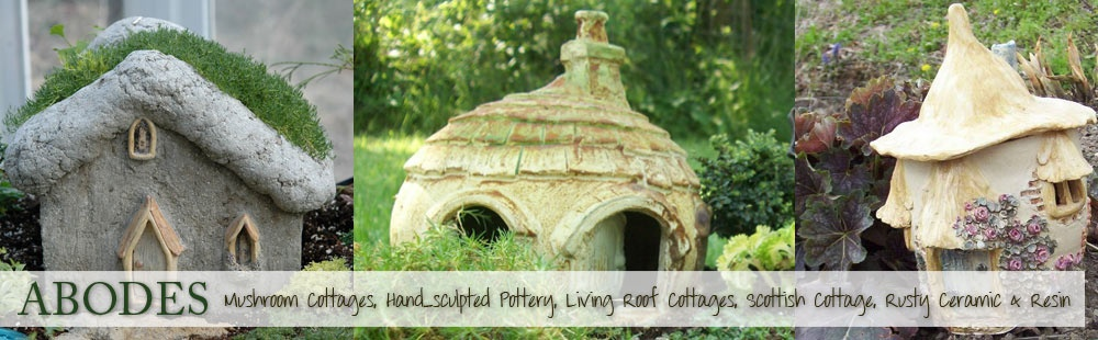 Fairy Garden Houses For Sale Hand Sculpted Cottages & More