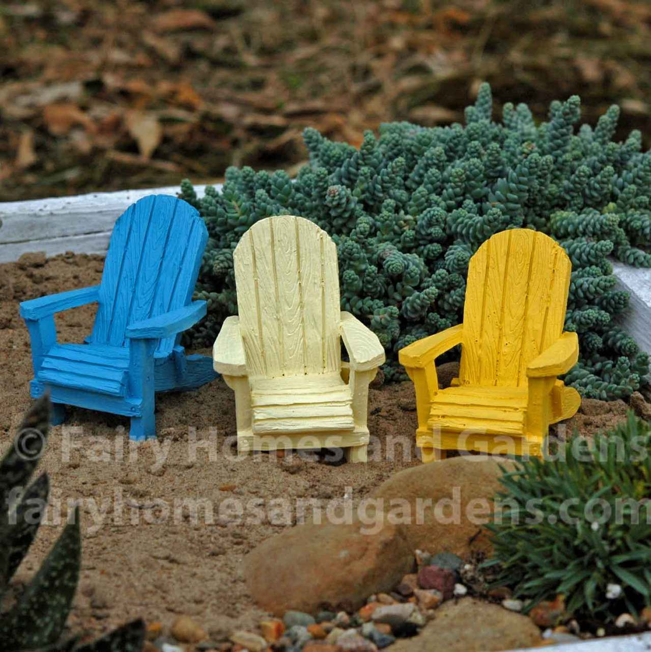 miniature adirondack chairs cvs beach fairy garden accessories furniture