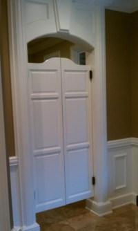 Custom Full Length Poplar Swinging Cafe Doors/ Saloon ...