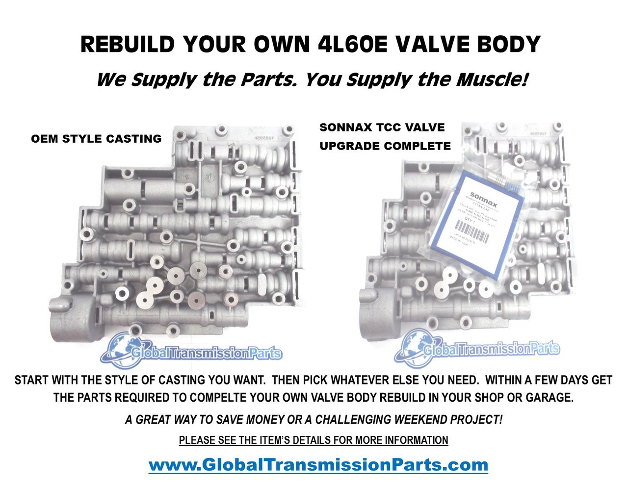 hight resolution of rebuild your own e transmission valve body parts easy jpg 1280x989 a618 transmission valve body
