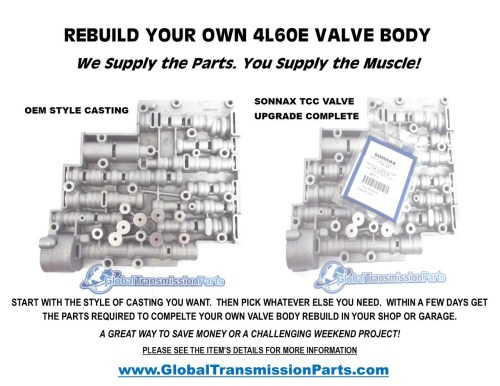 small resolution of rebuild your own e transmission valve body parts easy jpg 1280x989 a618 transmission valve body