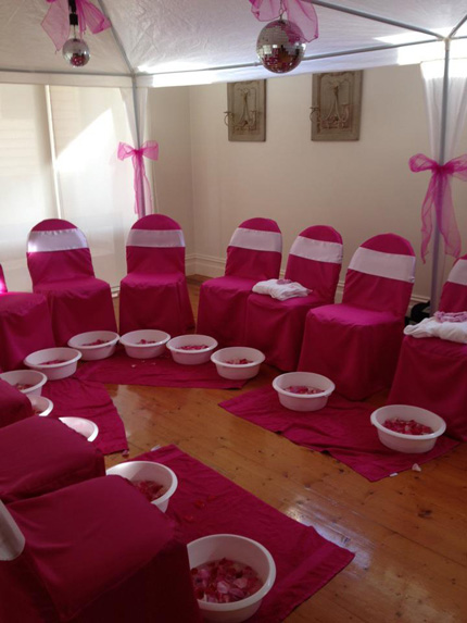 Zoes Spa Pamper Party  Little Dance  All Things Party