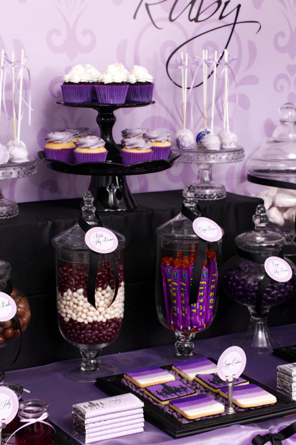 Rubys Sophisticated Tween 13th Birthday Table  Little