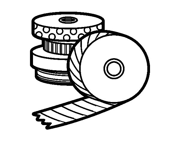 Tape Measure Coloring Coloring Page Coloring Pages