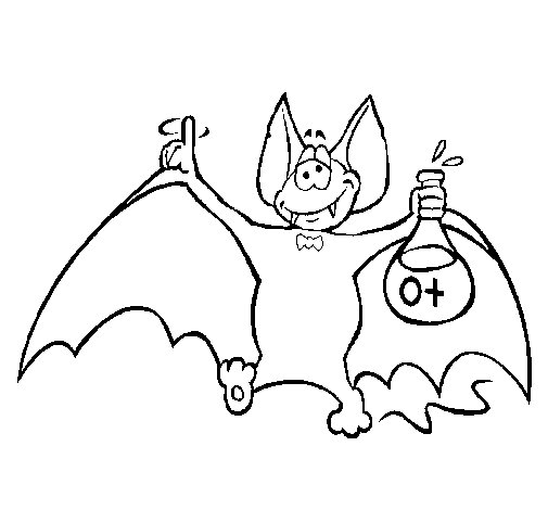 Morcego Desenho De Ikyoichi