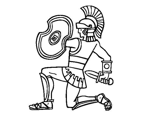 Gladiator Coloring Pages Coloring Pages