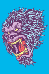 SASQUATCH FRENZY T-Shirts Sasquatch is finally found, lurking on your T-shirt! Bright, bold, neon and awesome. This eye-popping Big foot tee in bought to you courtesy of Mr-Nicolo, the man behind Dino Frenzy. Bask in it's glory, scare small children and be the envy of all your friends. This Roaringly awesome tee will sell out fast. The neon squatch is here, grab it now!