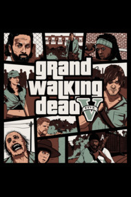 Grand Walking Dead Shirts. Walking Dead meets GTA5 Grand Theft Auto 5
