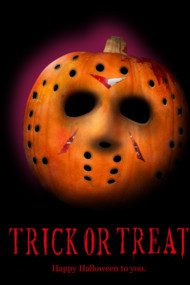 Nightmare Halloween T Shirt Trick or Treat ...or? Jason Friday the Thirteen