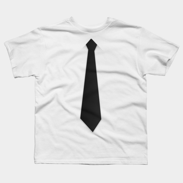 Black Tie T Shirt By Javialc Design By Humans