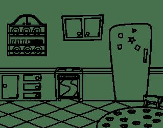 Dibujo de Cocina office para Colorear Dibujos net