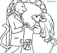 Dibujo de La ratita presumida 17 para Colorear - Dibujos.net
