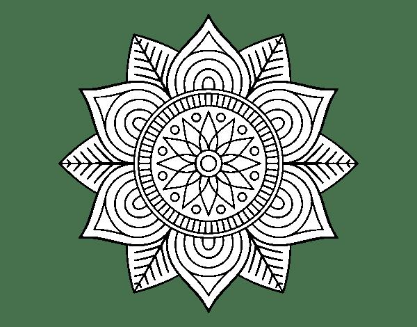 La Flor De Loto En Los Mandalas