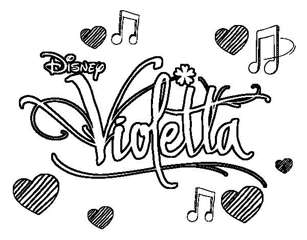 Dibujos De Violetta Para Pintar Picture Gallery